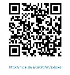 QR kode for konserten